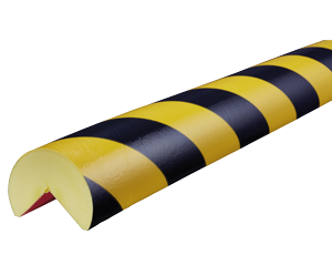 Type A+ yellow-black corner protection bumper guard