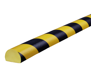 Type C yellow-black surface protection bumper guards