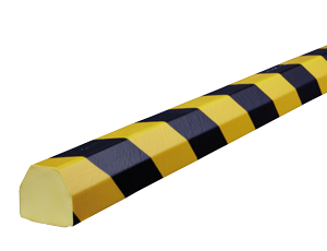 Type CC yellow-black surface protection bumper guards