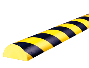 Type C+ yellow-black surface protection bumper guards