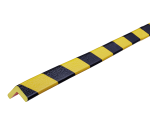 Type E yellow-black corner protection bumper guard