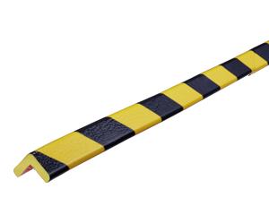 Type E yellow-black corner protection bumper guard