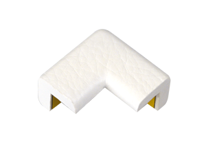 Type E (2D) white protective corners