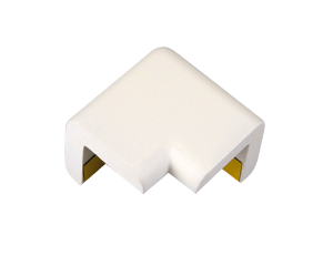 Type H (2D) white protective corners