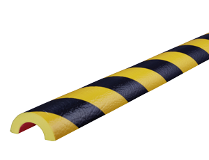 Type R30 yellow-black pipe protection bumper guards